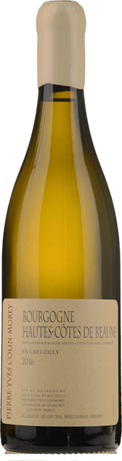 PIERRE-YVES COLIN-MOREY, Bourgogne Hautes Cotes de Beaune blanc 2016