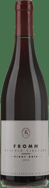 FROMM WINERY Clayvin Vineyard Pinot Noir, Marlborough 2016