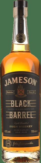 JAMESON Black Barrel Irish Whiskey 40% ABV, Ireland NV