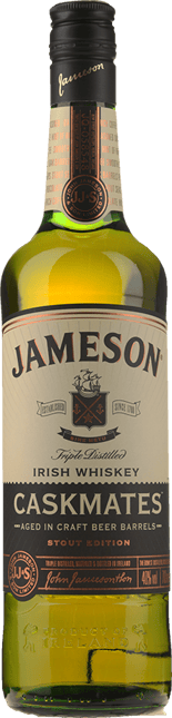 JAMESON Caskmates Stout Edition Irish Whiskey 40% ABV, Ireland NV