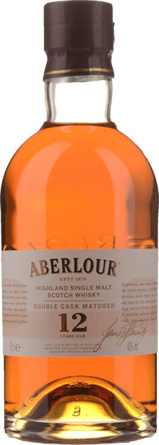 ABERLOUR 12 Year Old Single Malt 40% ABV, The Highlands NV