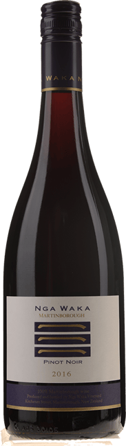 NGA WAKA Pinot Noir, Martinborough 2016