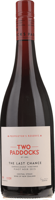 TWO PADDOCKS Proprietor's Reserve Last Chance Pinot Noir, Central Otago 2015