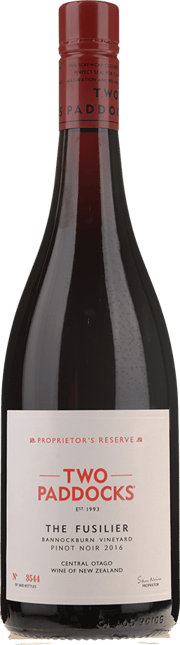 TWO PADDOCKS Proprietor's Reserve The Fusilier Pinot Noir 2016