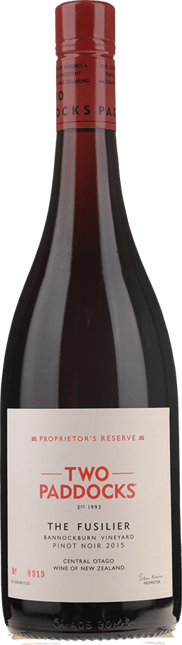 TWO PADDOCKS Proprietor's Reserve The Fusilier Pinot Noir 2015
