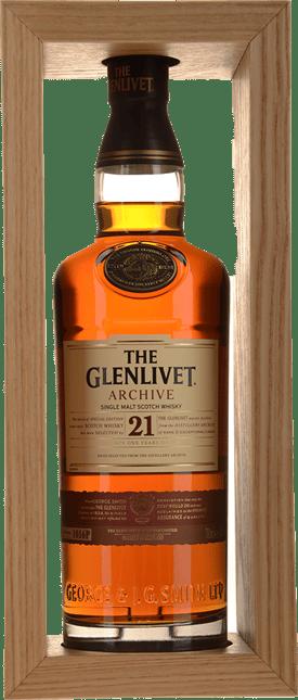 THE GLENLIVET Archive 21 Year Old Single Malt Whisky 43% ABV, Speyside NV