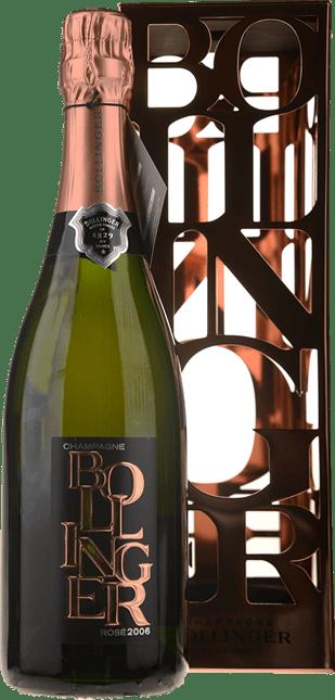 BOLLINGER Brut Rose, Champagne 2006