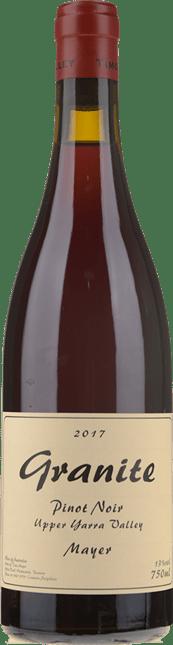 MAYER Granite Pinot Noir, Yarra Valley 2017