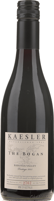 KAESLER WINES The Bogan Shiraz, Barossa Valley 2015