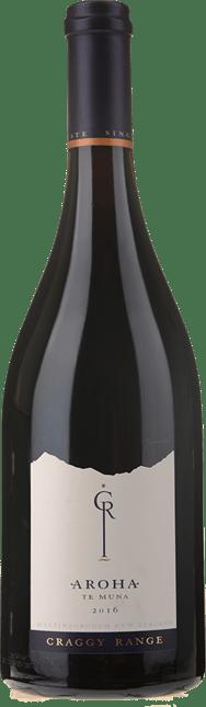 CRAGGY RANGE WINERY Aroha Pinot Noir, Martinborough 2016
