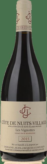 DOMAINE JEAN-JACQUES CONFURON Les Vignottes, Cote de Nuits-Villages 2015