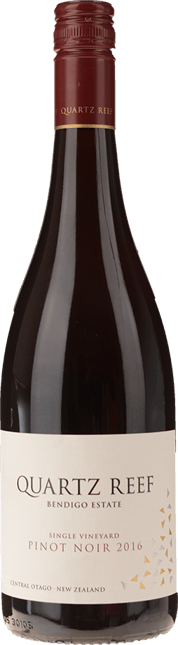 QUARTZ REEF Pinot Noir, Central Otago 2016