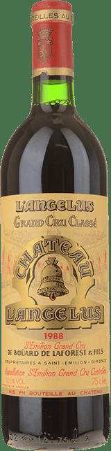 CHATEAU ANGELUS 1er grand cru classe (A), St-Emilion 1988