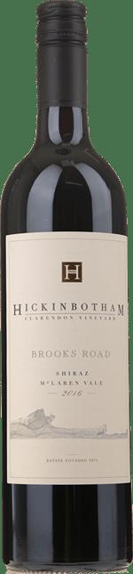 HICKINBOTHAM WINERY Brooks Road Shiraz, McLaren Vale 2016