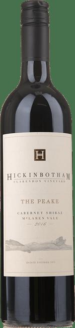 HICKINBOTHAM WINERY The Peake Cabernet Shiraz, McLaren Vale 2016
