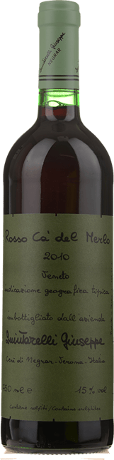 QUINTARELLI Rosso Ca' del Merlo, Veneto IGT 2010