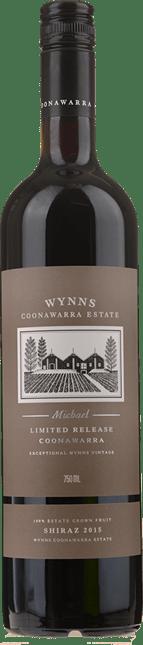 WYNNS COONAWARRA ESTATE Michael Shiraz, Coonawarra 2015
