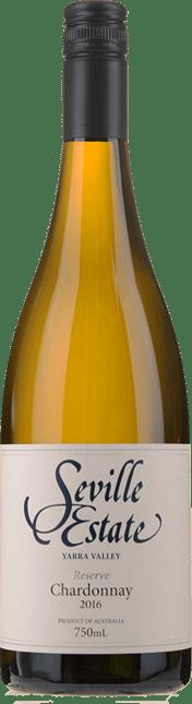 SEVILLE ESTATE Reserve Chardonnay, Yarra Valley 2016