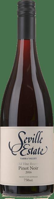SEVILLE ESTATE Old Vine Reserve Pinot Noir, Yarra Valley 2016