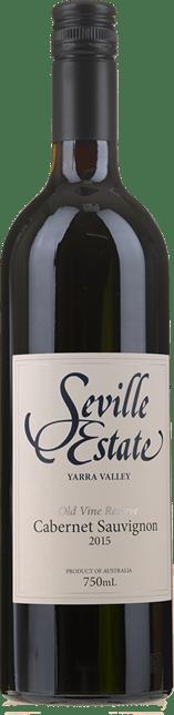 SEVILLE ESTATE Old Vines Reserve Cabernet Sauvignon, Yarra Valley 2015
