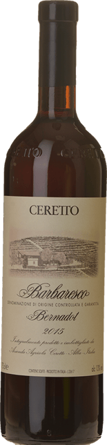 CERETTO Bernardot, Barbaresco DOCG 2015