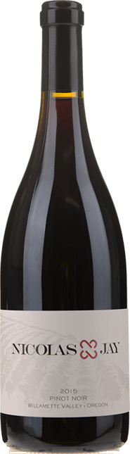 NICOLAS-JAY Pinot Noir, Willamette Valley 2015