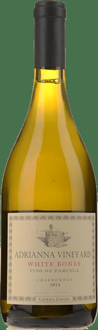 CATENA ZAPATA Adrianna Vineyard White Bones Chardonnay, Mendoza 2014