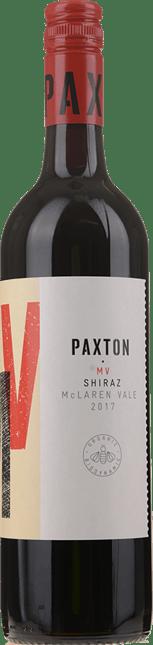 PAXTON WINES MV Shiraz, McLaren Vale 2017