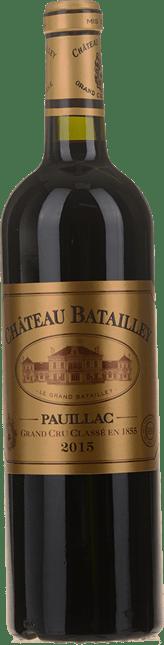 CHATEAU BATAILLEY 5me cru classe, Pauillac 2015