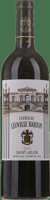 CHATEAU LEOVILLE-BARTON 2me cru classe, St-Julien 2015