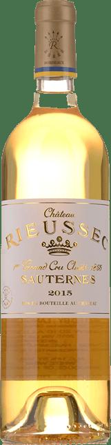 CHATEAU RIEUSSEC 1er cru classe, Sauternes 2015