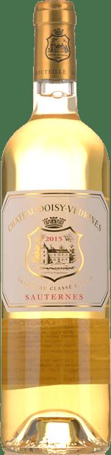 CHATEAU DOISY-VEDRINES 2me cru classe, Sauternes-Barsac 2015