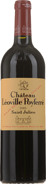 CHATEAU LEOVILLE-POYFERRE 2me cru classe, St-Julien 2015