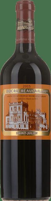 CHATEAU DUCRU-BEAUCAILLOU 2me cru classe, St-Julien 2015