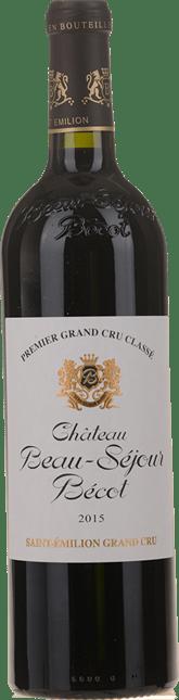 CHATEAU BEAU-SEJOUR BECOT 1er grand cru classe (B), St-Emilion 2015