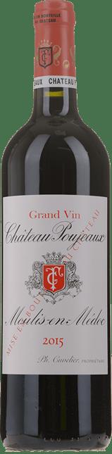 CHATEAU POUJEAUX Grand bourgeois exceptionnel, Moulis 2015