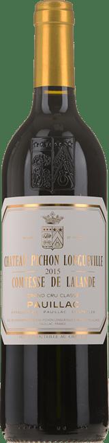 CHATEAU PICHON-LONGUEVILLE LALANDE 2me cru classe, Pauillac 2015