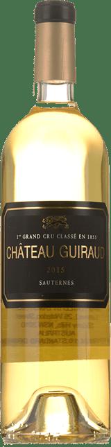 CHATEAU GUIRAUD 1er cru classe, Sauternes 2015