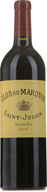 CLOS DU MARQUIS Second wine of Chateau Leoville Las-Cases, St-Julien 2015