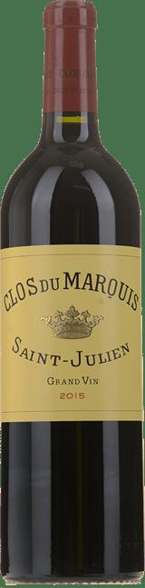 CLOS DU MARQUIS Second wine of Chateau Leoville Las-Cases, St-Julien 2015