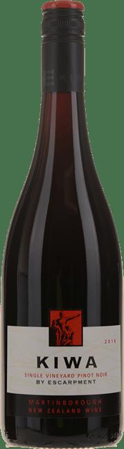 ESCARPMENT VINEYARD Kiwa Pinot Noir, Martinborough 2016