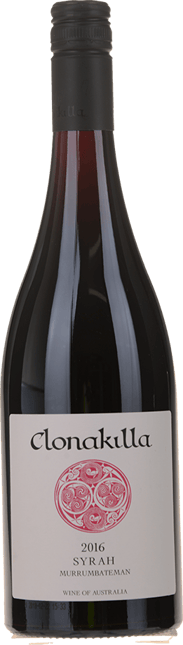 CLONAKILLA Murrumbateman Syrah, Canberra District 2016