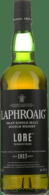 LAPHROAIG Lore Single Malt Scotch Whisky 48% ABV, Islay NV