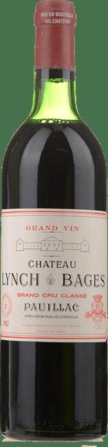 CHATEAU LYNCH-BAGES 5me cru classe, Pauillac 1982