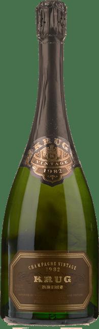 KRUG Vintage Brut, Champagne 1982