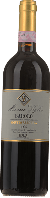 MAURO VEGLIO Vigneto Arborina, Barolo 2004
