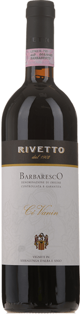 RIVETTO Ce Vanin, Barbaresco DOCG 2006