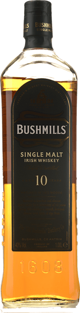 BUSHMILLS 10 Year Old Single Malt, Irish Whiskey NV