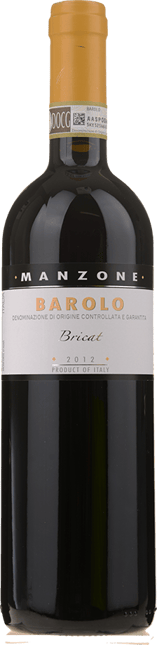 MANZONE Bricat, Barolo DOCG 2012