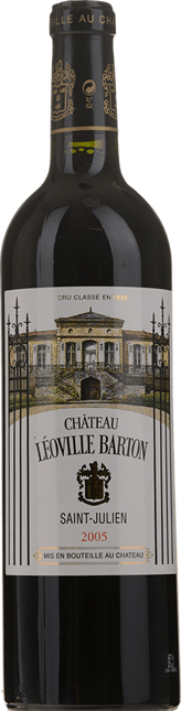 CHATEAU LEOVILLE-BARTON 2me cru classe, St-Julien 2005
